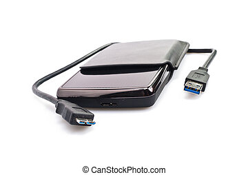 Portable Harddisk With USB cable