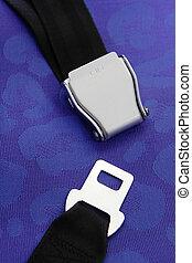 azul, asiento, Plano de fondo, cinturón