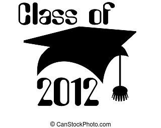 Class of 2012, graduation cap