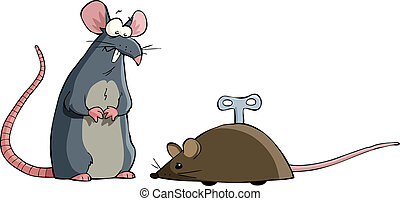 Two mouse
