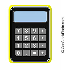 calculator icon isolated on white