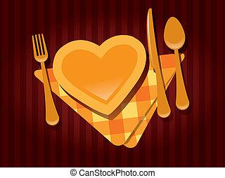 Valentine's day restaurant