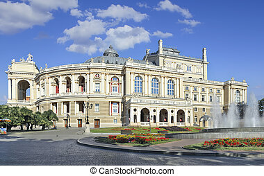 Opera Odessa - Beautiful opera and ballet house in Odessa...