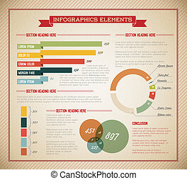 Big Vector set of Infographic elements for your documents...