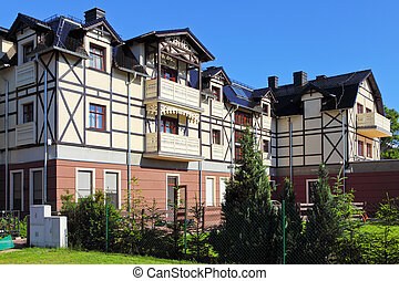 Renovation, old style character building