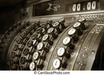 cash register - Vintage cash register