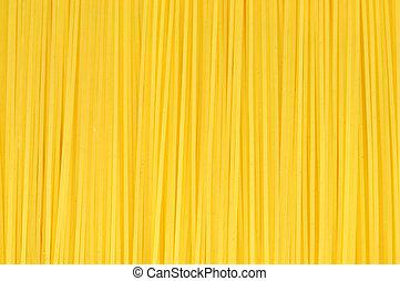Espaguetis, textura