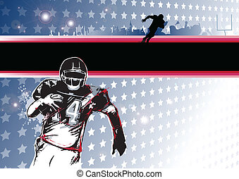 passion of the american football - new poster ice hockey