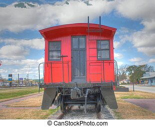 red caboose 4 - red caboose