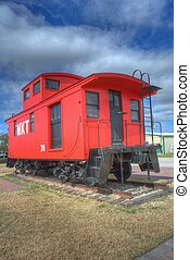 red caboose 3 - red caboose
