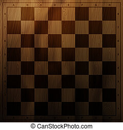 Vintage chess board background. Vector illustration, EPS10
