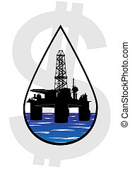 Crude oil production - Production and sale of minerals. Oil...