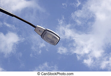 Street Light at daytime