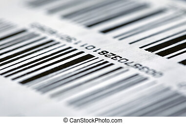 Barcode on packaging