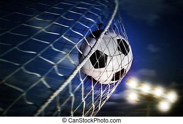 fotboll, boll