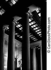 Lincoln Memorial - The Lincoln Memorial stands at the west...