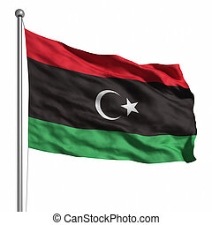 Flag of the Libyan Republic