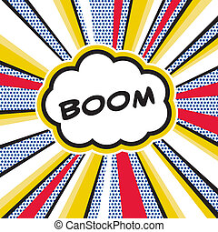 KAPOW - A Pop Art inspired explosion