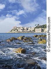 coast of Genoa - genoa from the sea