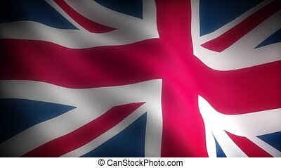 Flag of United Kingdom Seamless