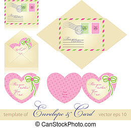 envelope and greeting card