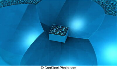blue box complex structures