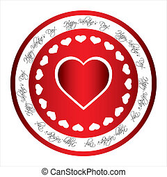 special red Valentine's Day stamp
