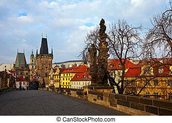 Charles bridge. Prague