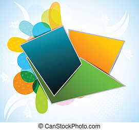 Abstract background - Abstract bright background with...