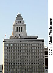 Los Angeles City Hall - Los Angeles city hall in downtown.