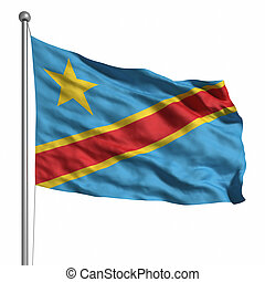 Flag of the DR Congo