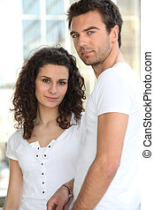 Natural looking couple