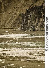 Alaskan Glacier and water