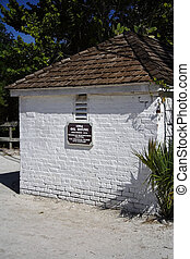 Oil House - Historic Oil House at the Sanibel Island...