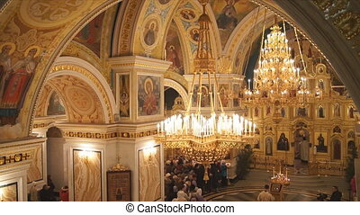 Russian Orthodox Church. The interi