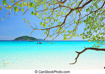 Andaman Sea, Thailand - Tropical paradise, Similan islands,...