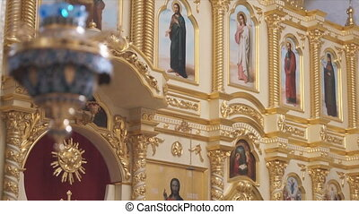 Russian Orthodox Church The interior, icons, life