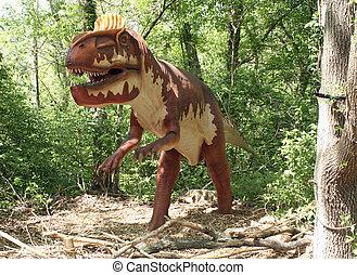 Dinosaurs, , Louisville Zoo