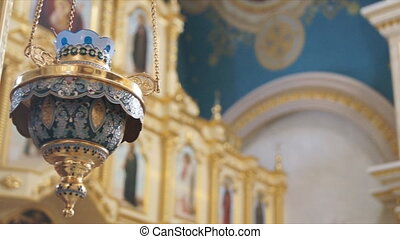 Russian Orthodox Church. The interior, icons, life.