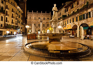 piazza, delle, Erbe, Verona