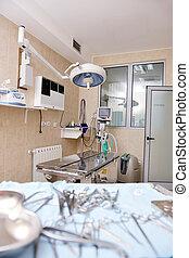 surgery room indoor