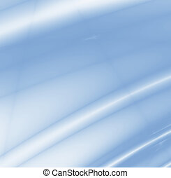 abstract smoothed lines and gradients of blue color