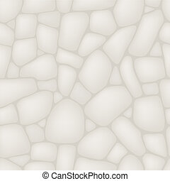 Seamlessly stone wall pattern. - Seamlessly stone wall...