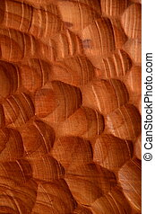 Background Texture Of Carved Wood