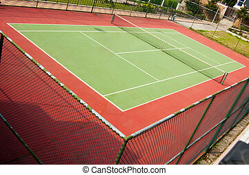 tennis court - outdoor Hard court