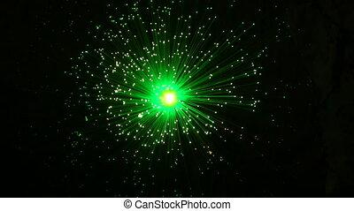 Abstract Star Burst Zoom Blur