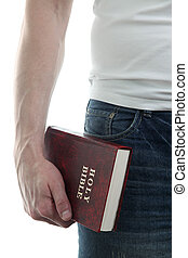 Man with the Bible