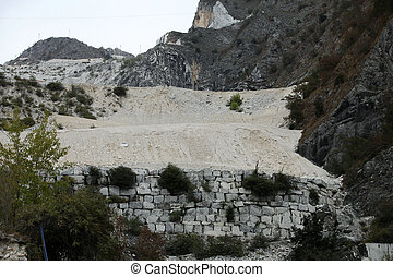 The Marble Quarries - Apuan Alps , Carrara, Tuscany, Italy