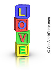 Play Blocks : LOVE