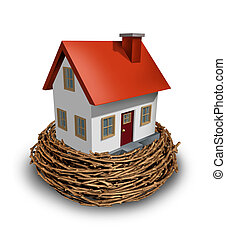 Home Investment as safe investing in a real estate nest egg...
